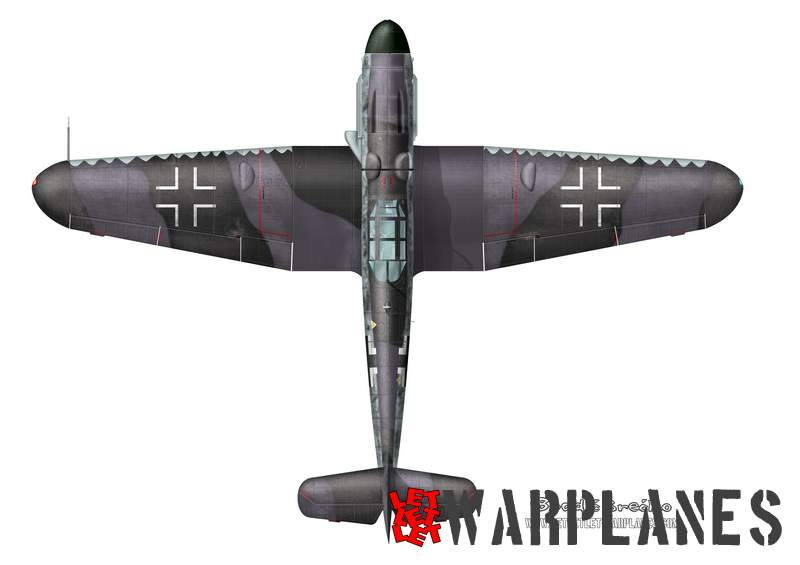 Bf-109H-0-top-operational