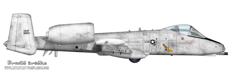 A-10 pre production 73-1665