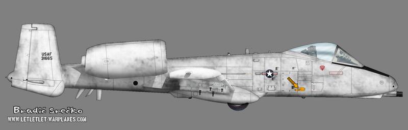 A-10 pre production 73-1665