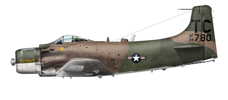 A-1H Firebird Bat 21