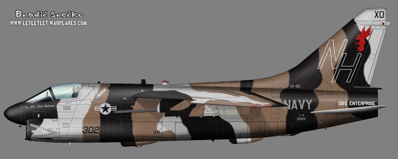 A-7E 158013