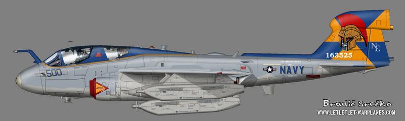 EA-6B  163525 VAQ-131