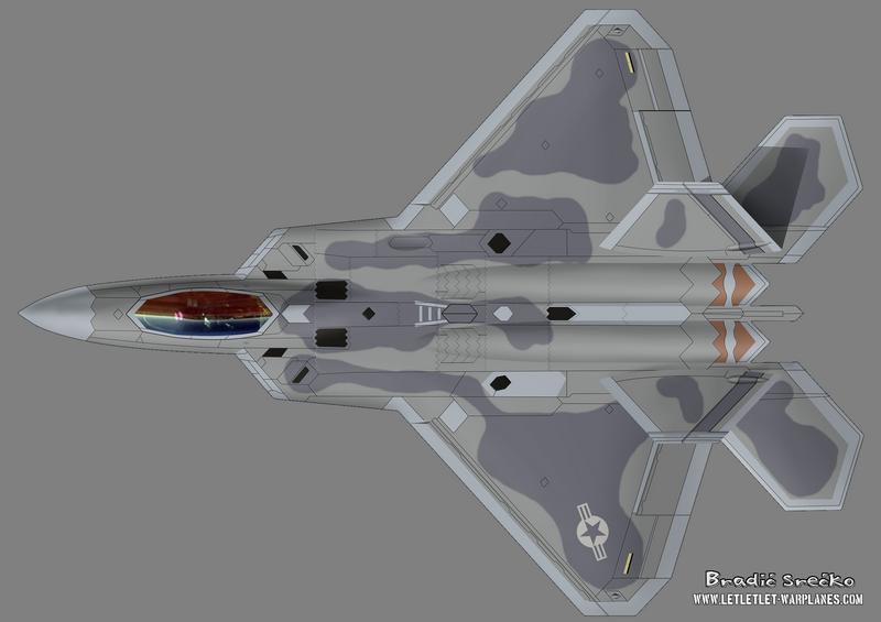 F-22 042 top