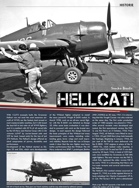 Hellcat article for Eduard