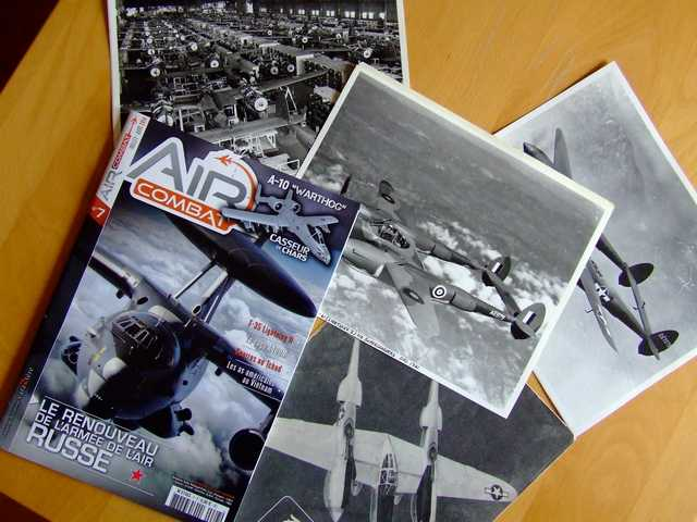 Air Combat magazine with focus on A-10 (with chapter made by me inside) and new set of archive images