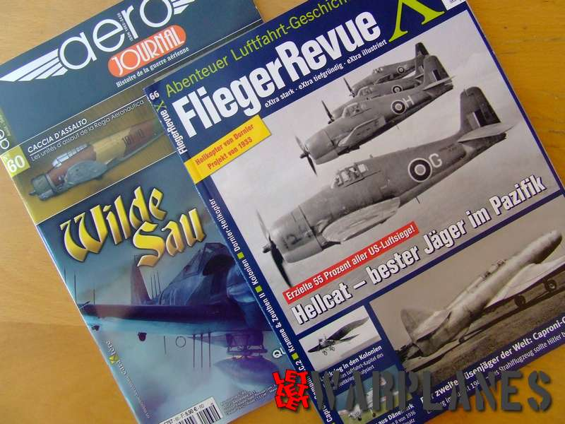 Two good magazines for aviation history