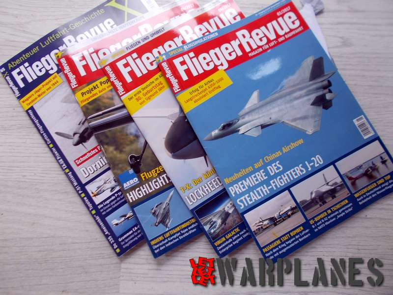 German magazines with actuall aviation, history and some modeling